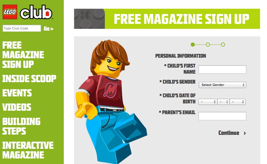 Lego:兩年免費Lego雜誌訂閱(不用郵費)