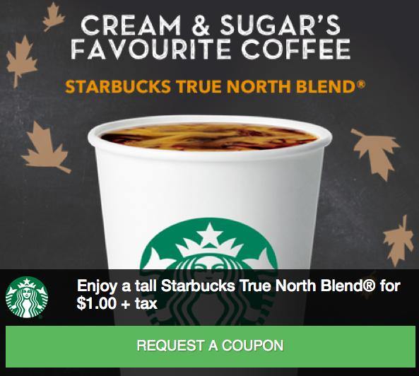 [逾期]Starbucks:烘培咖啡只賣$1