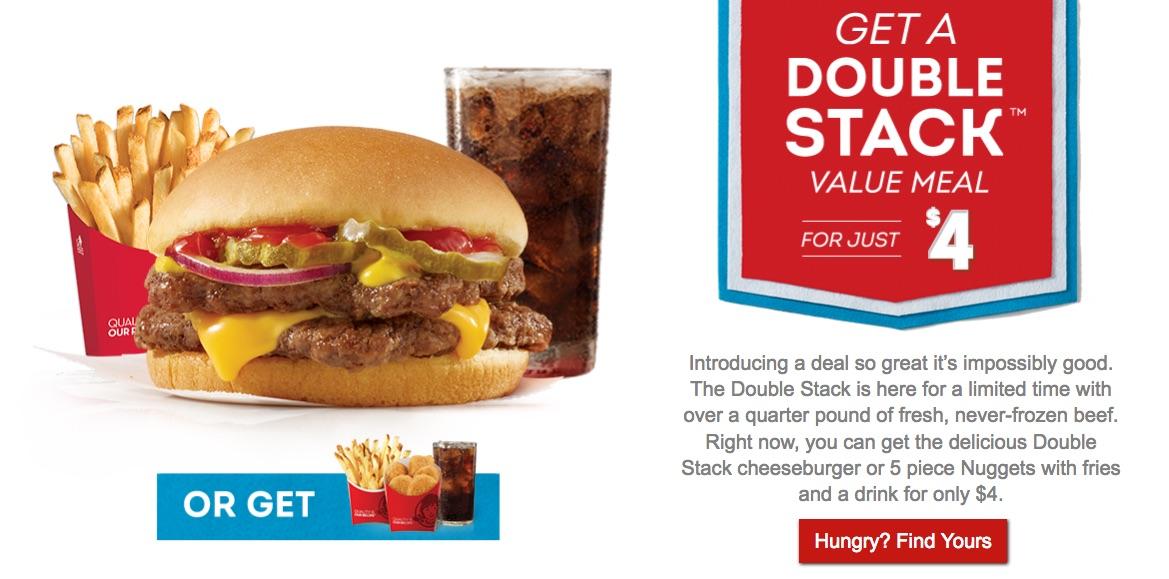 Wendy's:特價套餐只賣$4