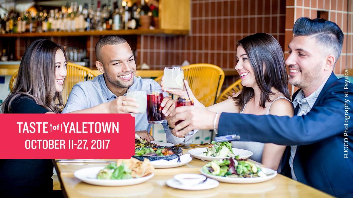 [逾期]品味Yaletown美食節 2017