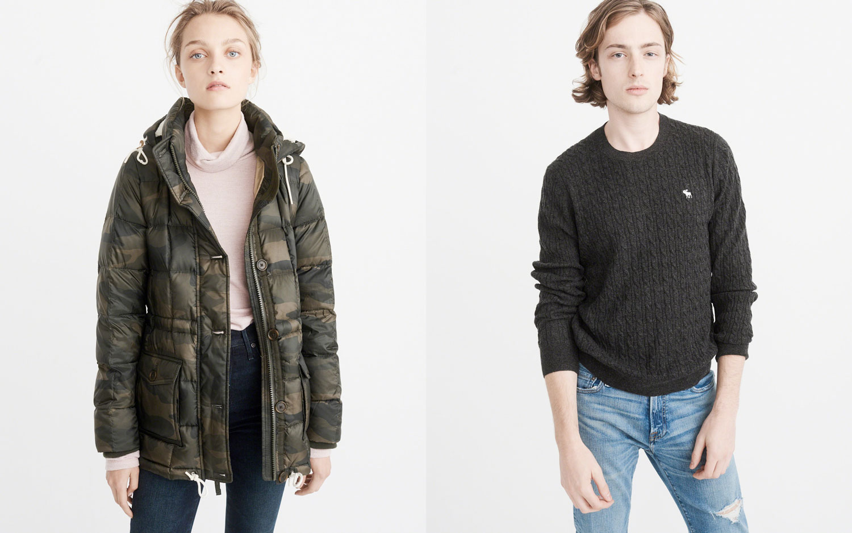 [逾期]A&F:女裝冬季外套只賣$42.75