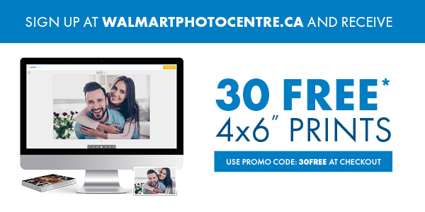 Walmart:免費30張相片沖晒