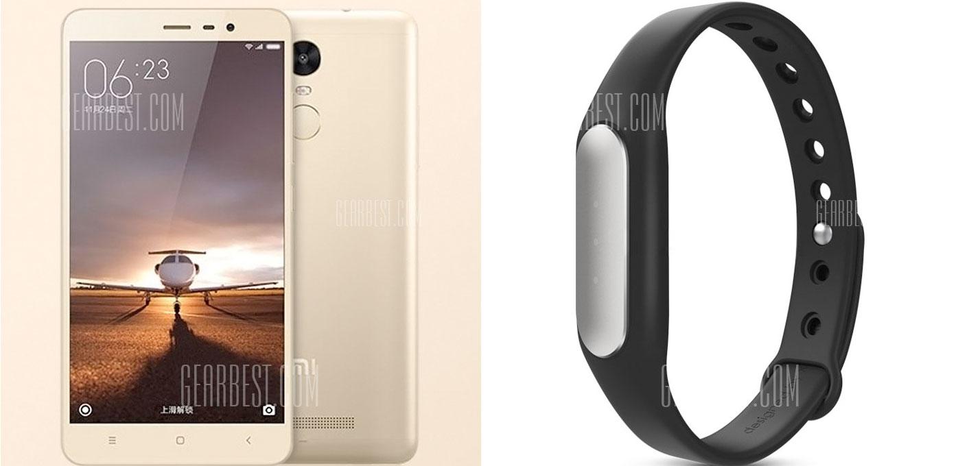 GearBest.com:小米品牌紅米 Note 3 16GB手機只賣US$185.89