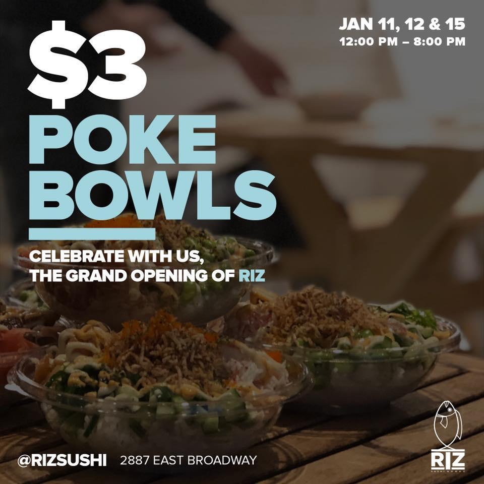 [逾期]Riz Sushi:夏威夷傳統魚生飯只賣$3