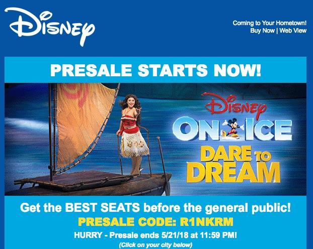 [逾期]Disney on Ice門券只賣$15