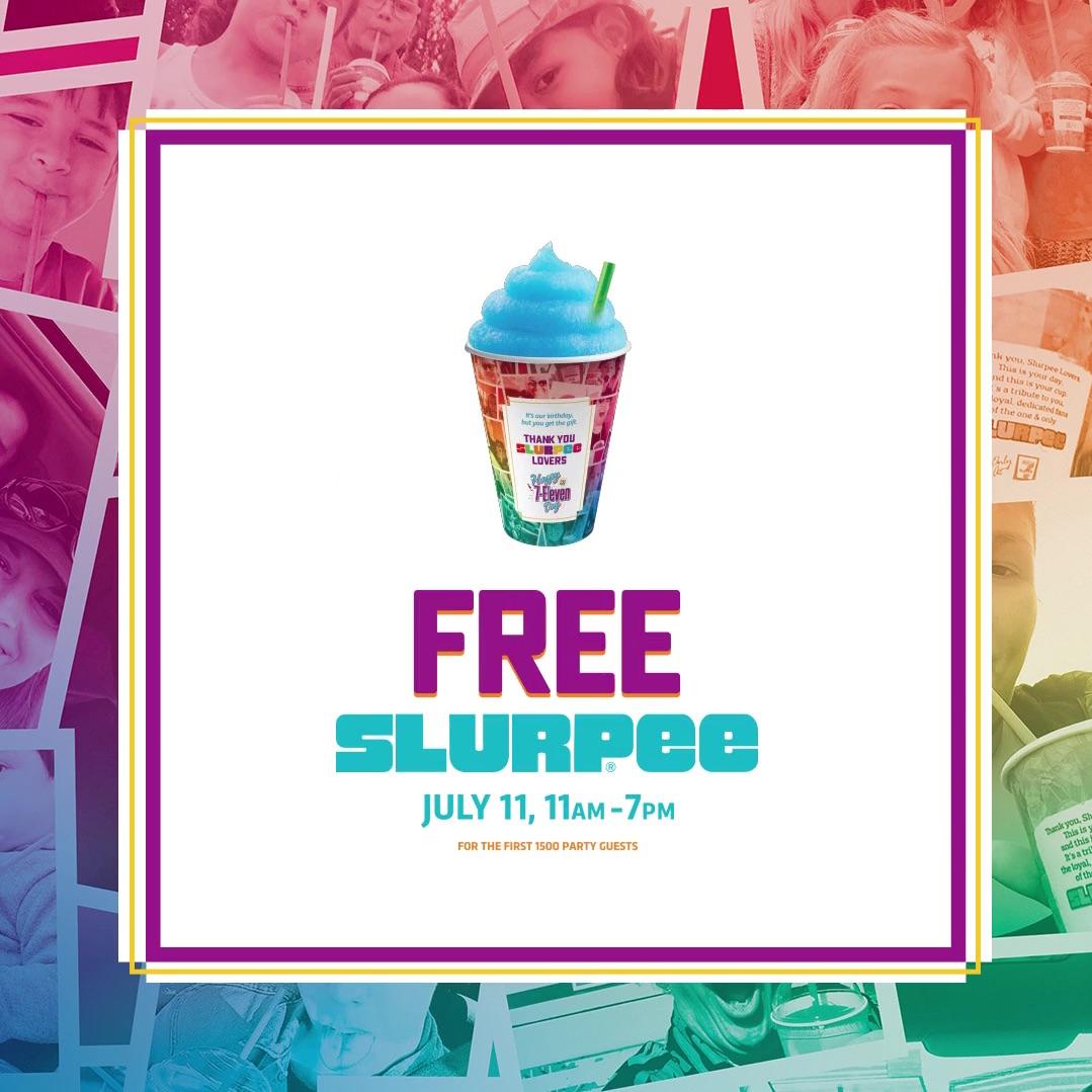 [逾期]7 Eleven:免費思樂冰