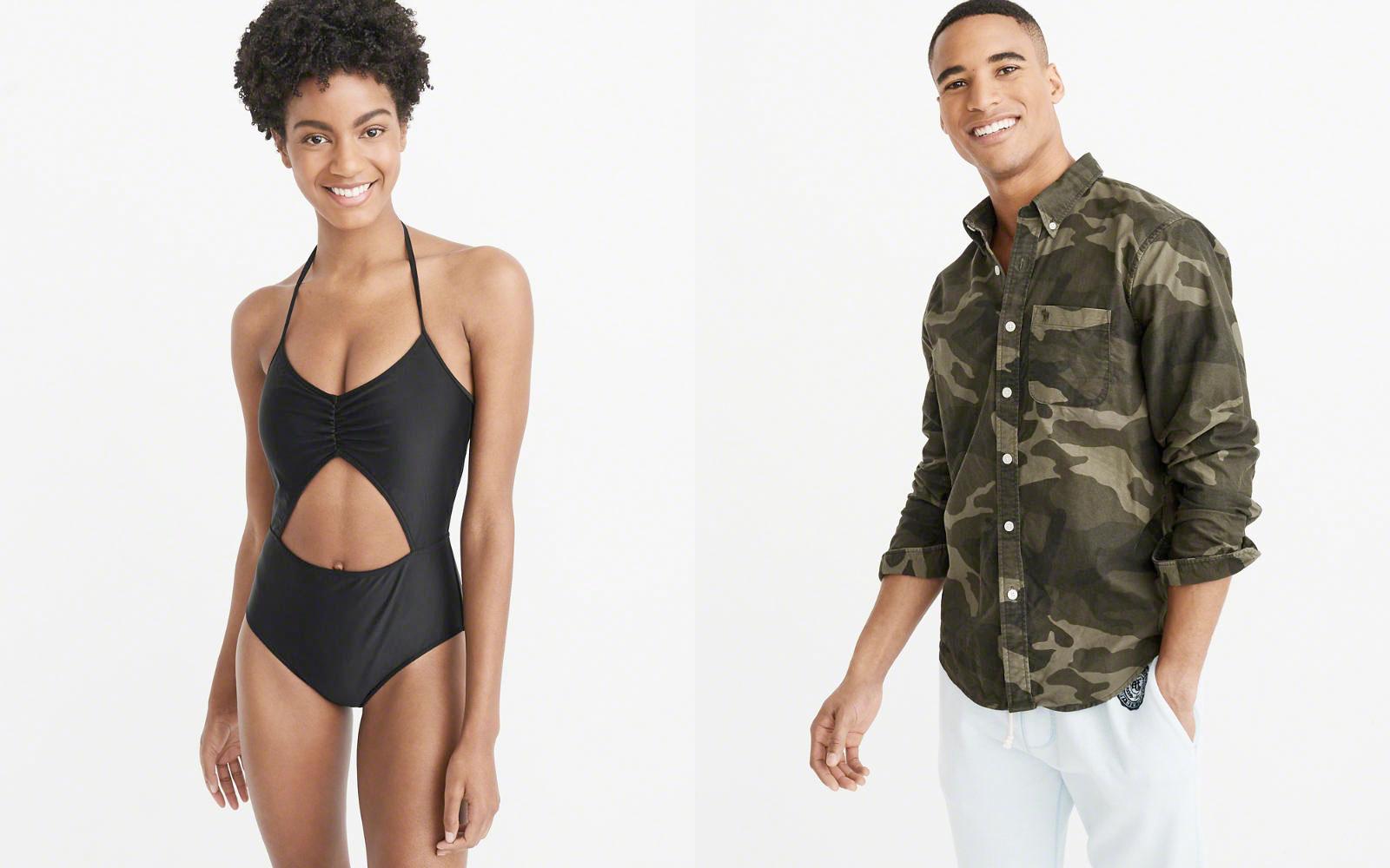 [逾期]A&F:女裝泳衣只賣$8.32