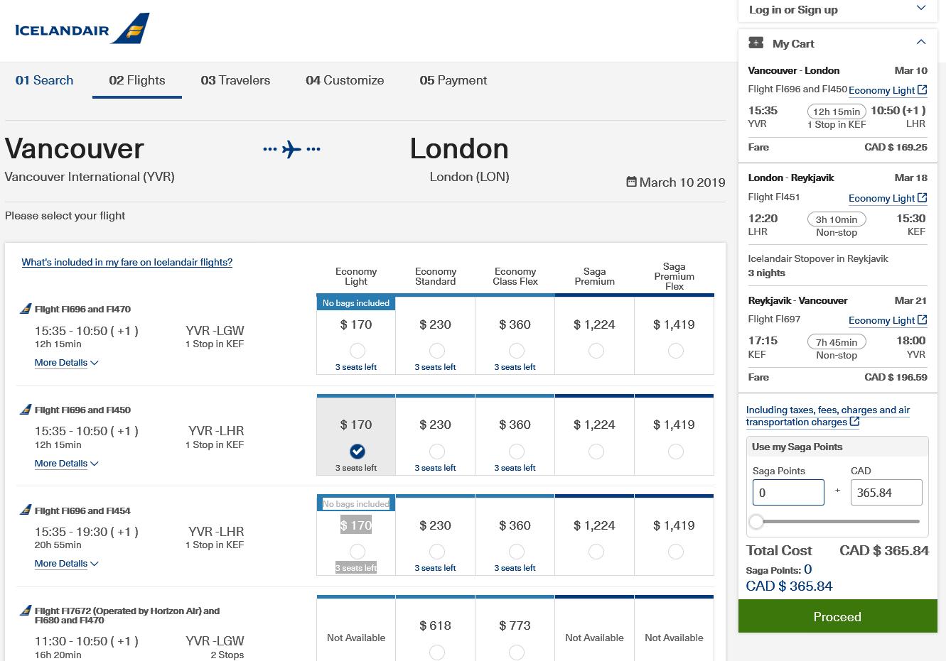 Iceland Air:溫哥華 – 倫敦 – 冰島機票只賣加幣$366(連稅)