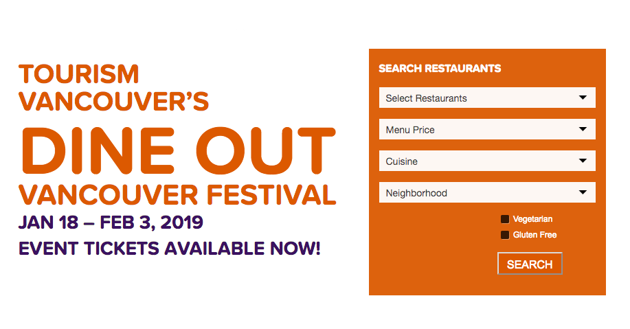 Vancouver Dine Out 2019