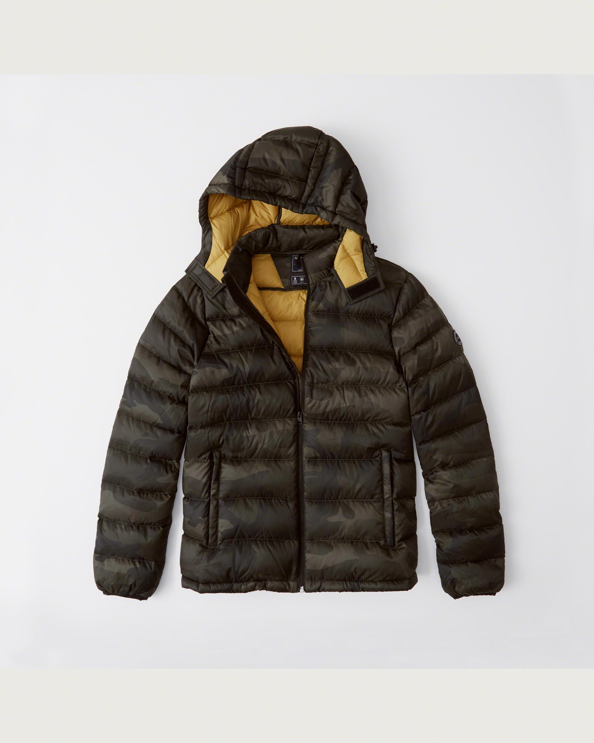 A&F:男裝冬季外套只賣$52.80