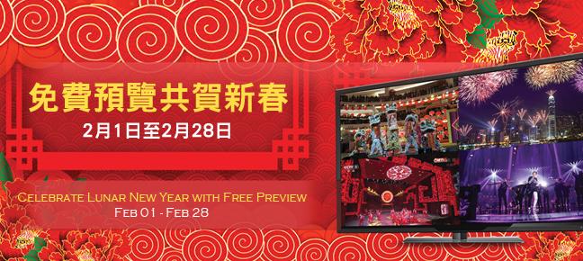 免費:新時代電視、新時代2高清台,及城市電視