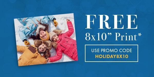 Walmart:免費 8×10 相片沖晒