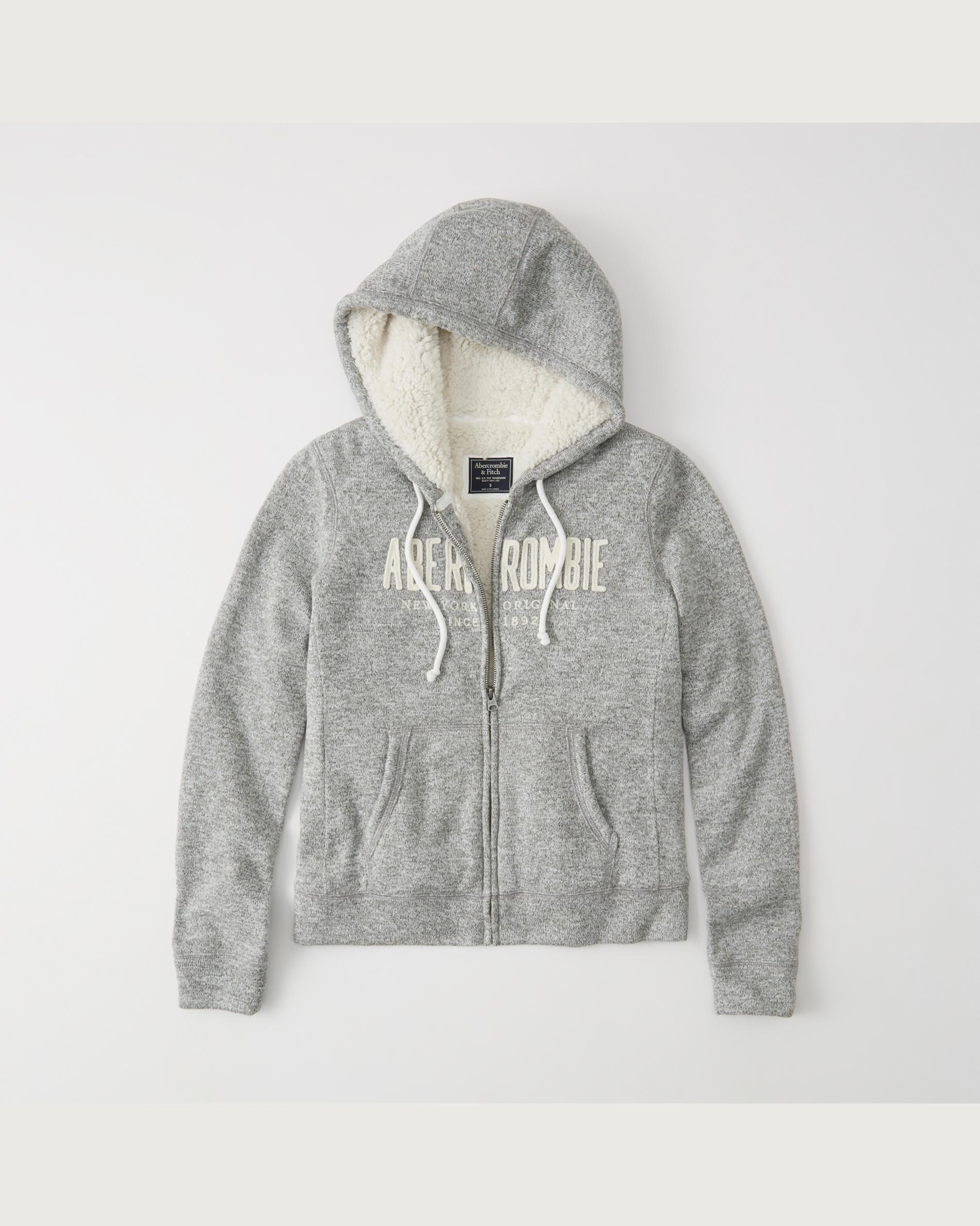 A&F:女裝抓毛衛衣只賣$28.60