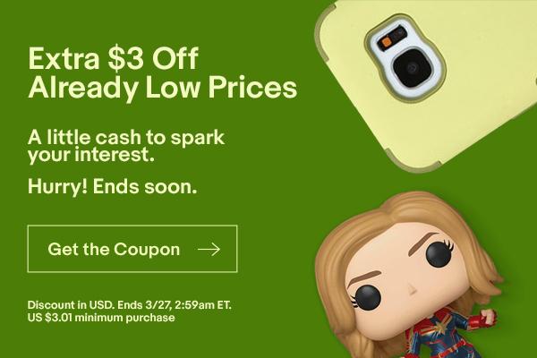 ebay.ca:USD$3折扣優惠