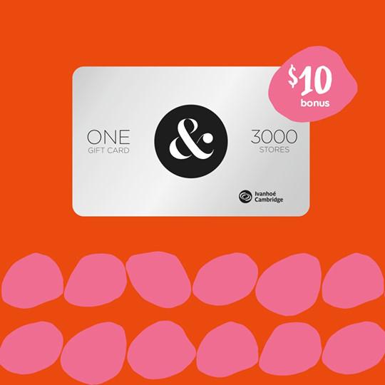 Metropolis at Metrotown:購買$125 禮券(Gift Card)即可獲$10額外禮券