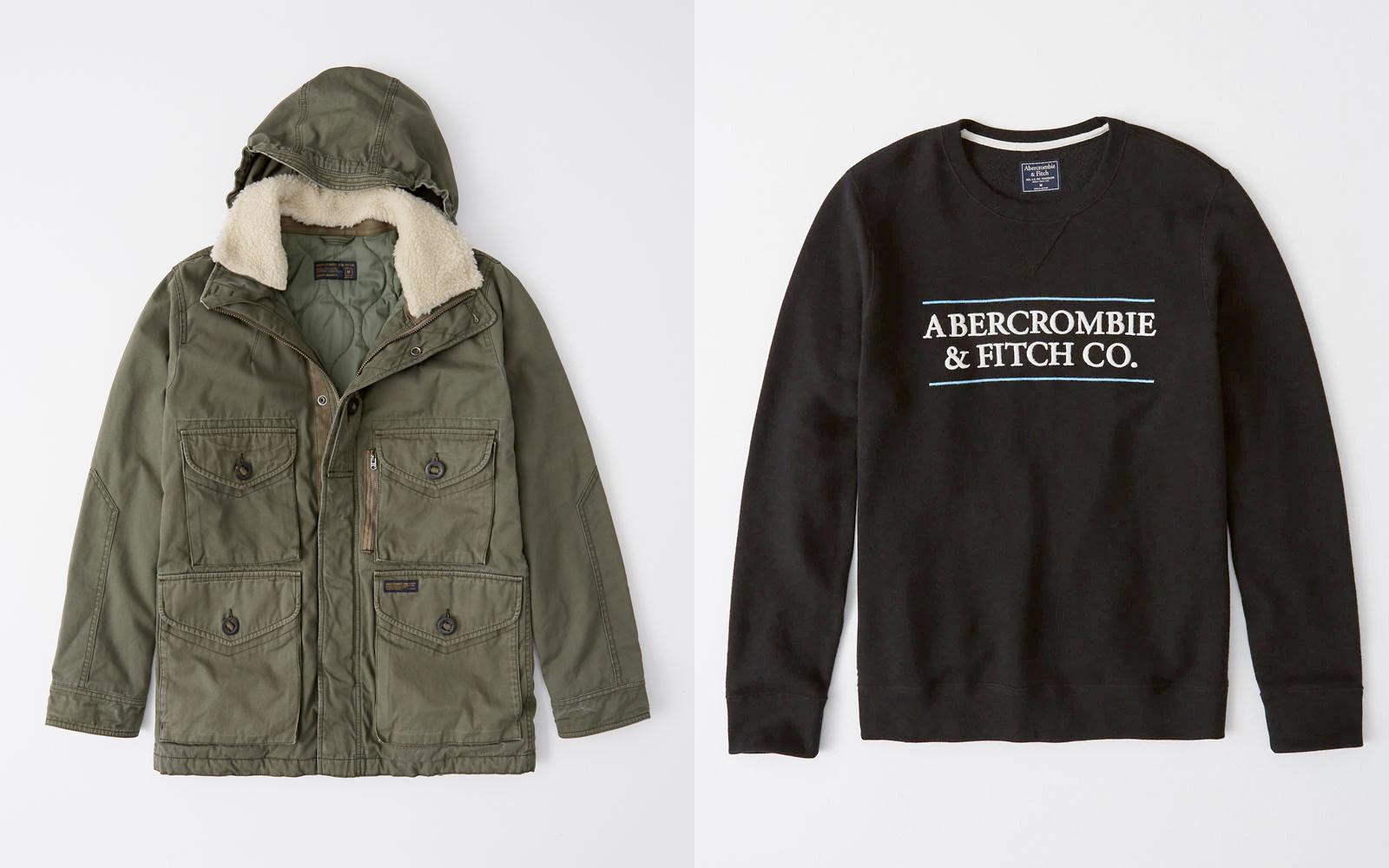 A&F:男裝衛衣只賣$13.99