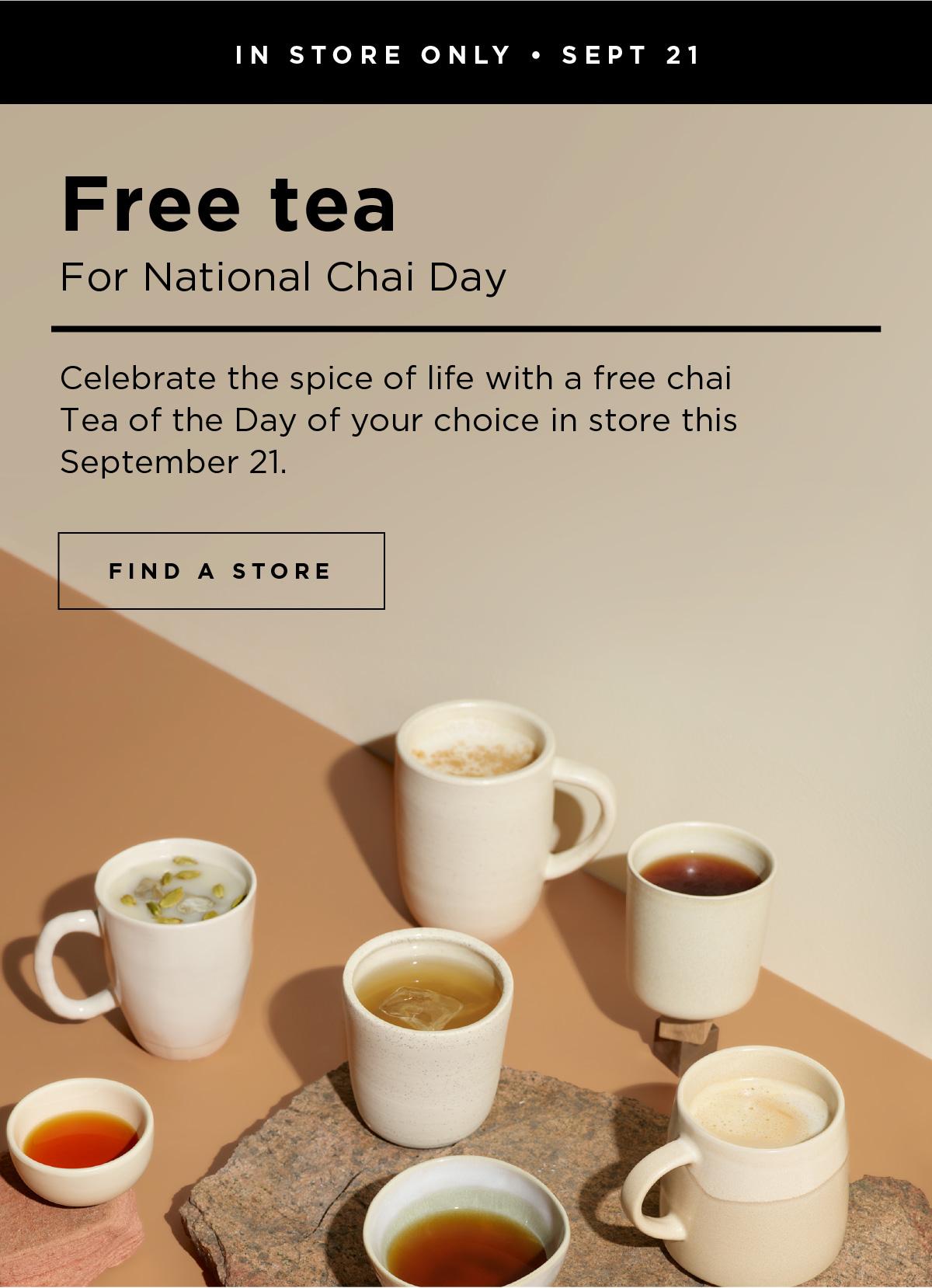 David's Tea:免費茶贈飲
