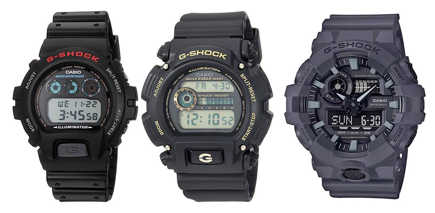 Amazon:Casio G-Shock手表特价优惠