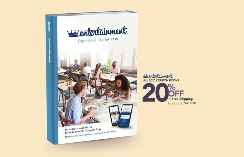 Entertainment Book:八折優惠