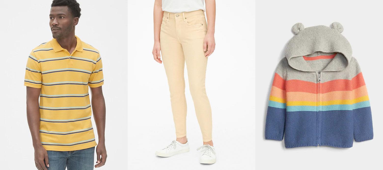 Gap官网:女装长裤只卖$9.99