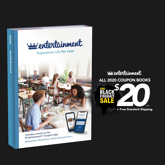 Entertainment Book:只卖US$20