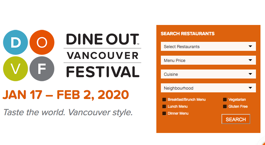 Vancouver Dine Out 2020