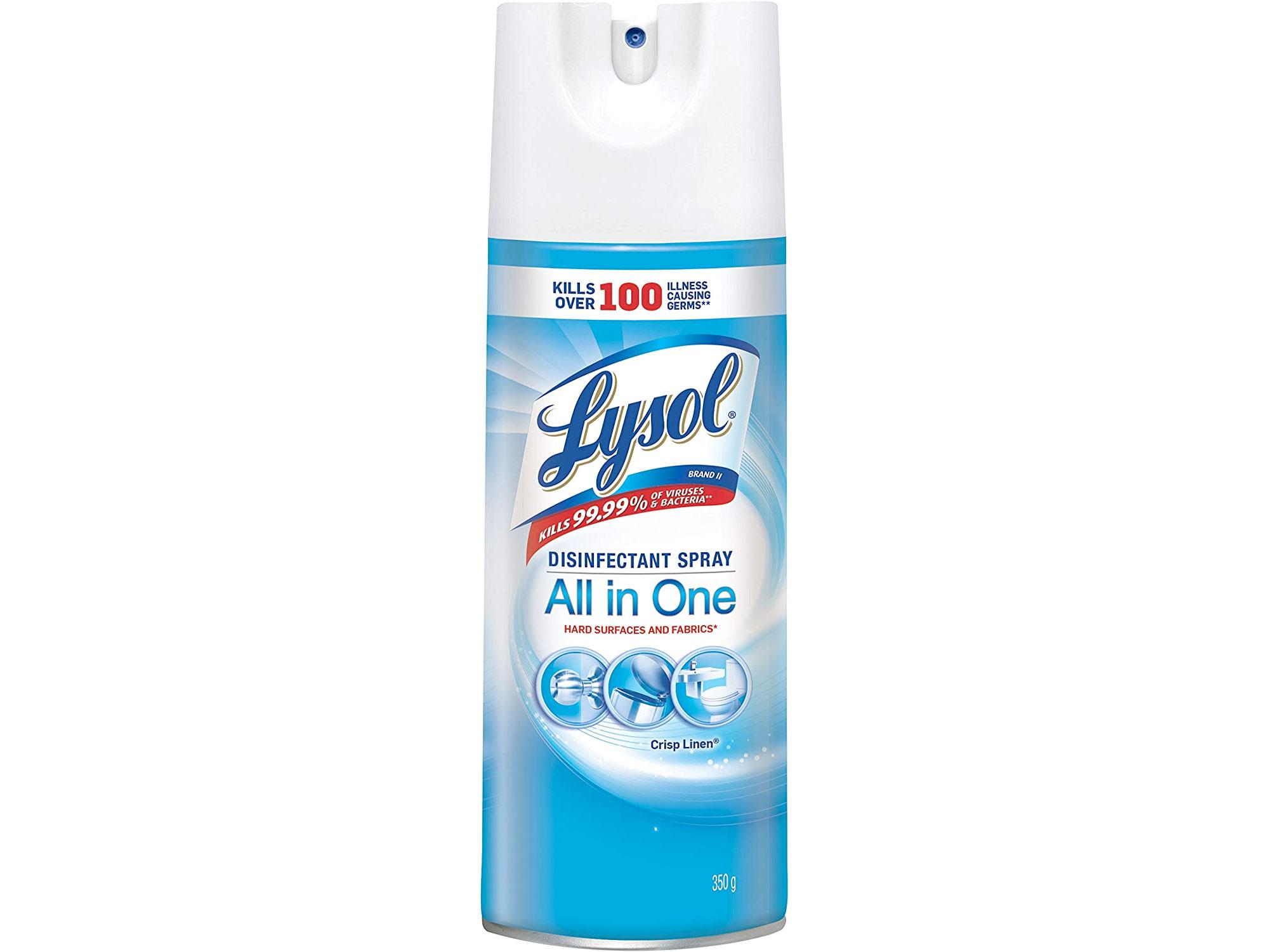 Amazon:Lysol Disinfectant Spray(350g)只賣$5.82