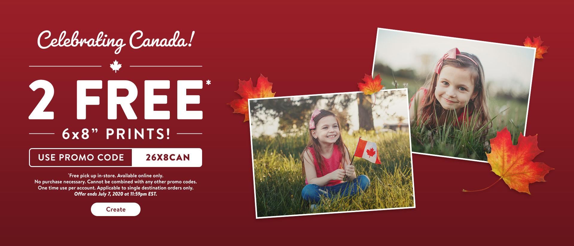 Walmart:免費兩張6×8 相片沖晒