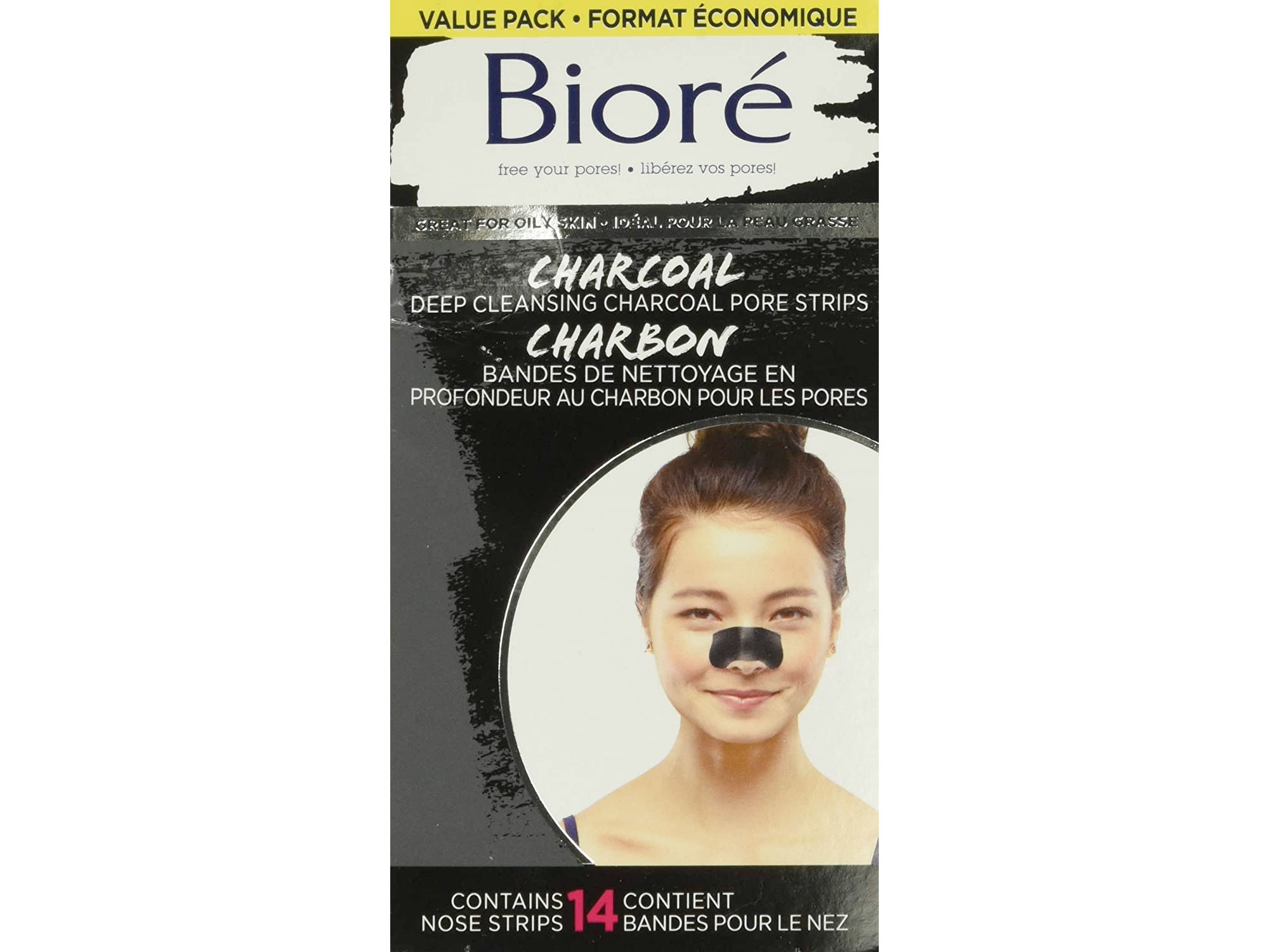 Amazon:Bioré毛孔清潔鼻貼14片只賣$10.48