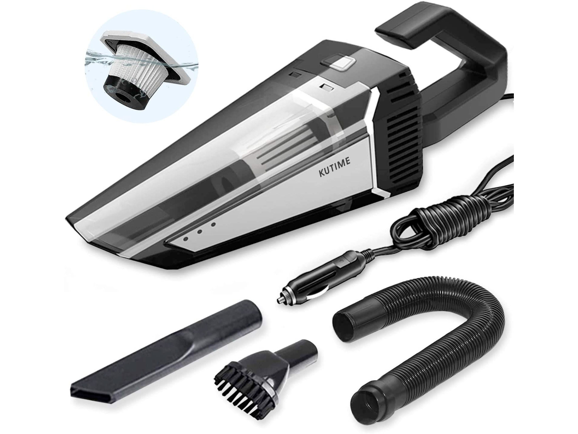 Amazon:KUTIME Car Vacuum Cleaner只賣$19.69