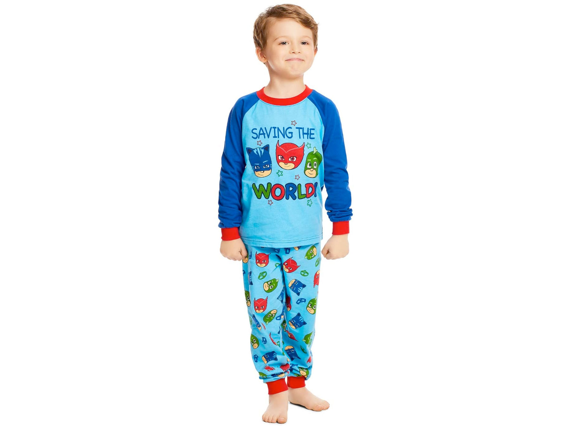 Amazon:PJ Mask Children Sleepwear只賣$10.99