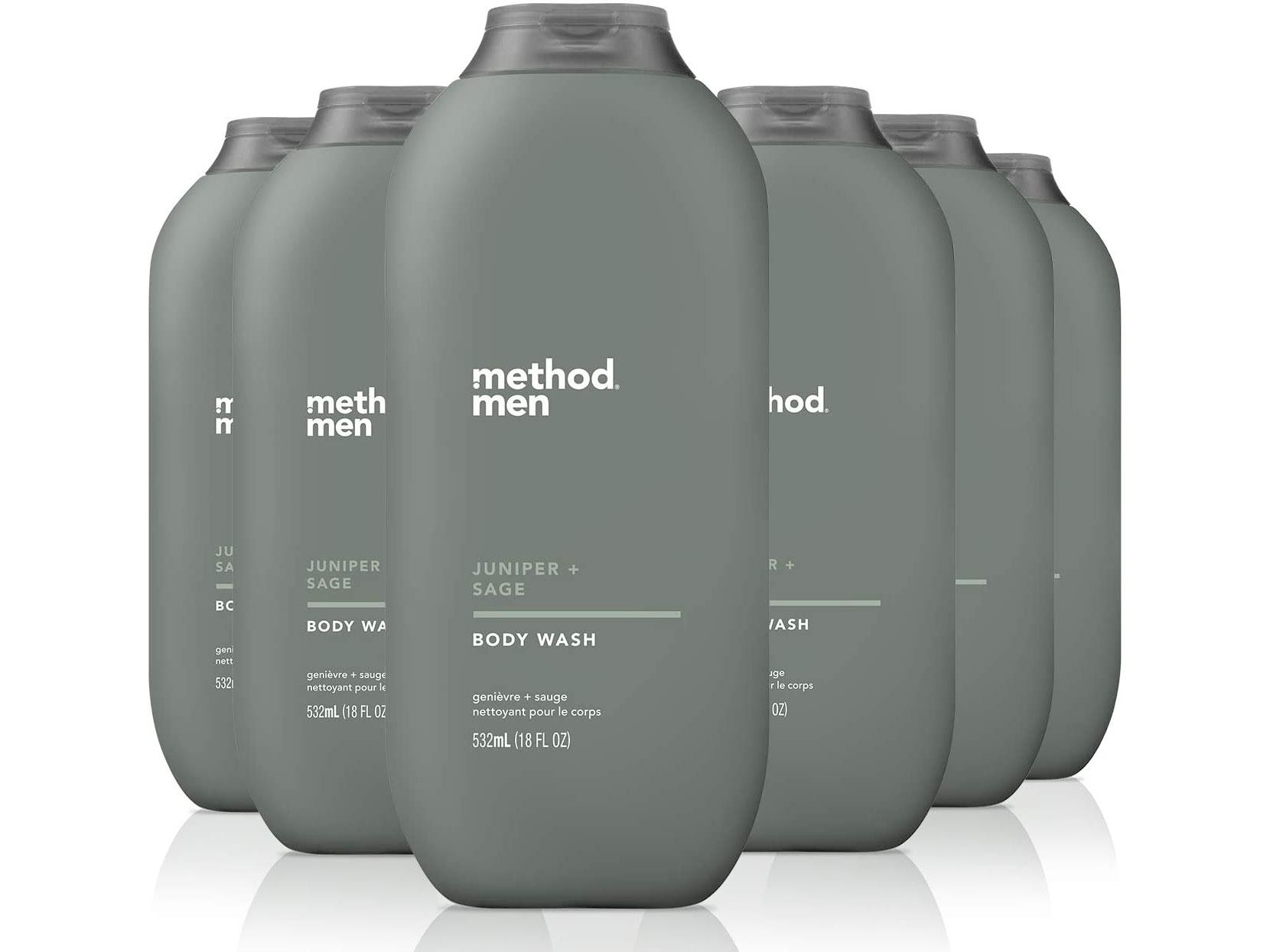 Amazon:Method Mens Body Wash(6 Count)只賣$27.44