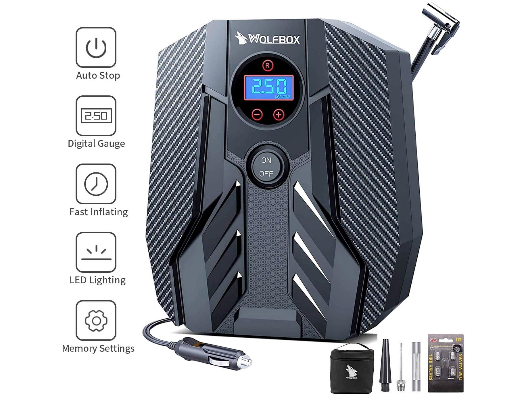 Amazon:Portable Air Compressor只賣$32.99