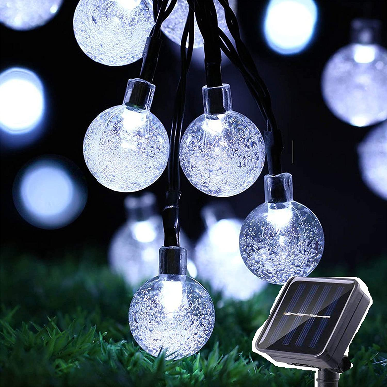 Amazon:Outdoor Solar String LED Lights只賣$14.49