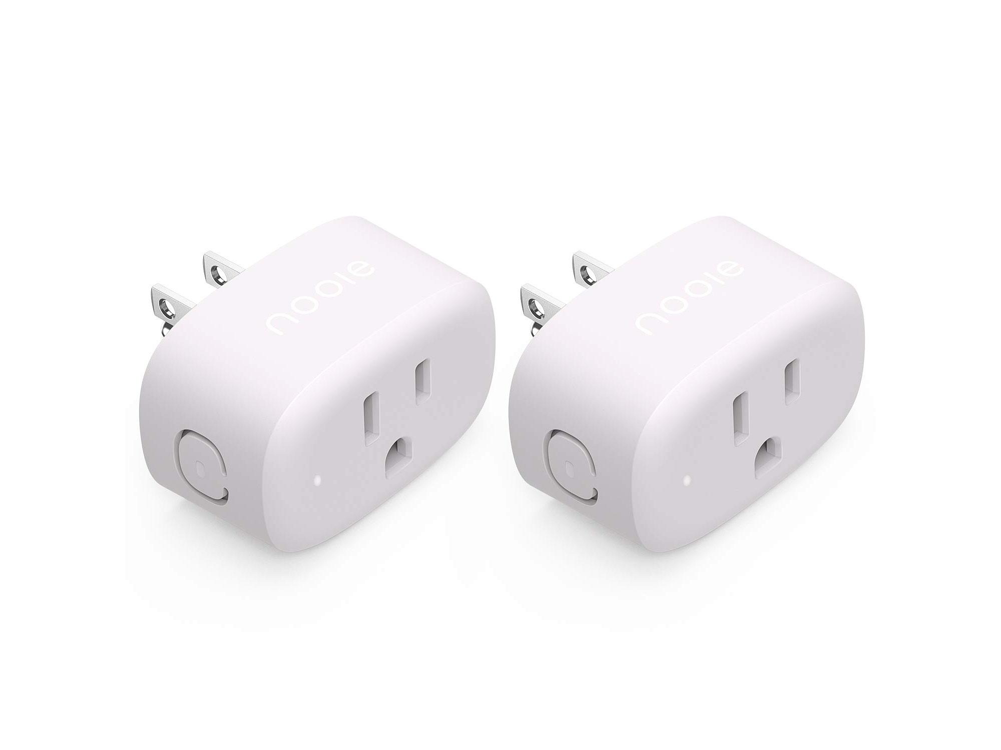 Amazon:Smart Plug Compatible with Alexa & Google Home(2-Pack)只卖$14.99