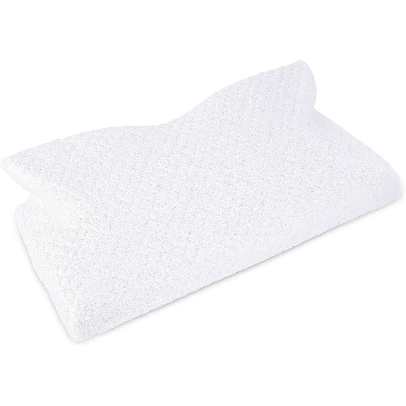 Amazon:Ergonomic Memory Foam Pillow只賣$18.04