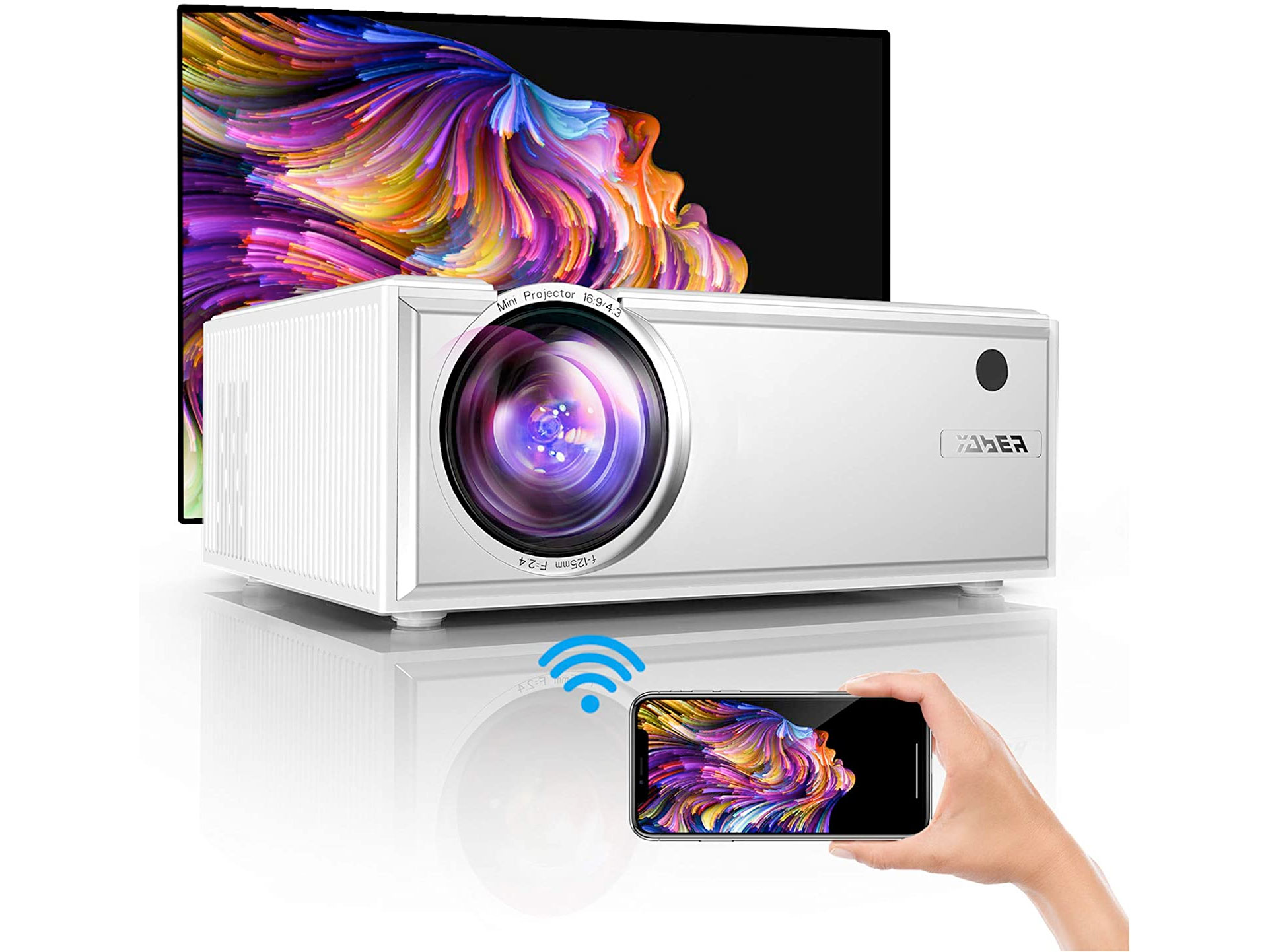 Amazon:Projector (7000:1 Contrast Ratio, wifi)只賣$84.99