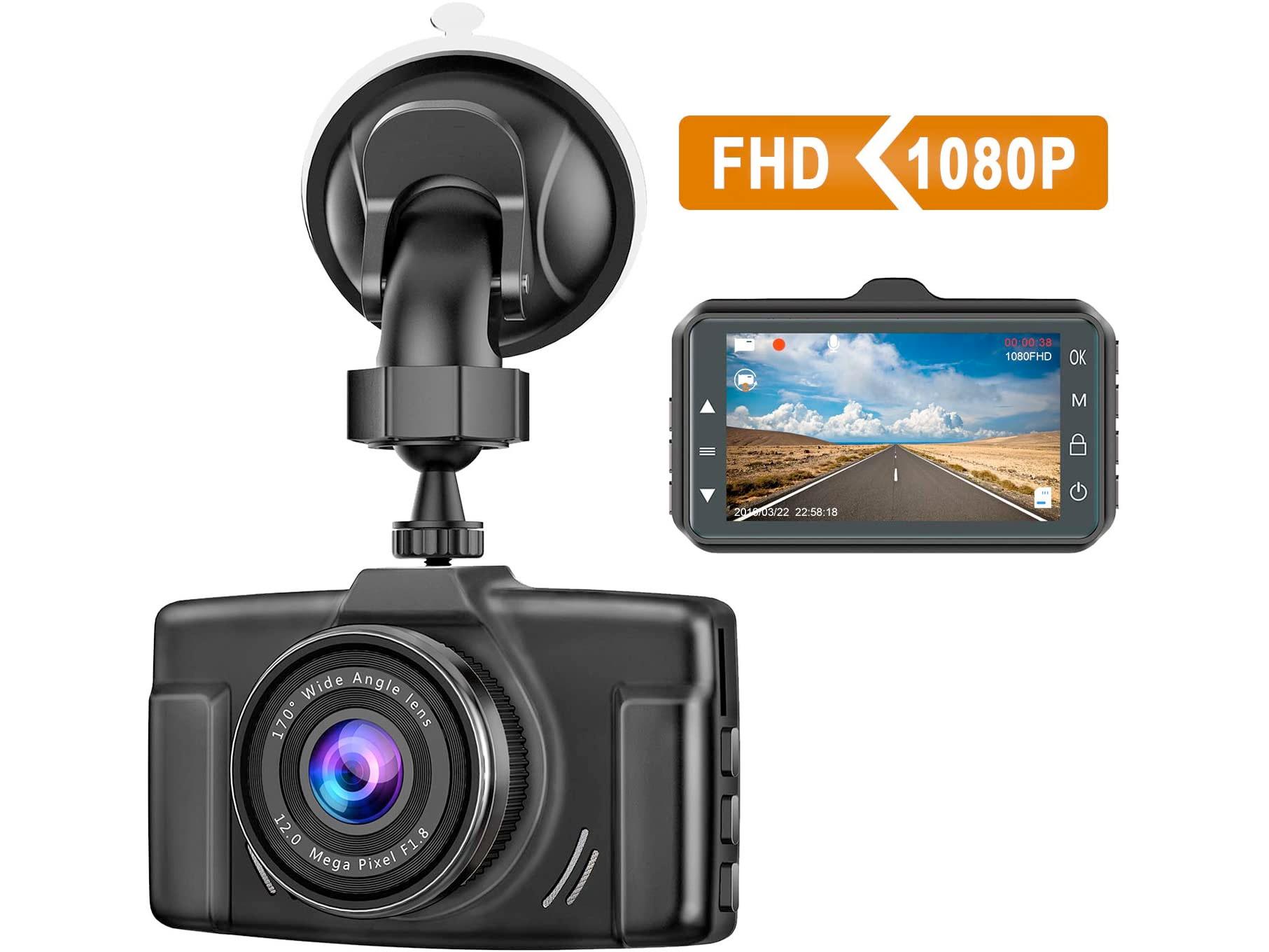 Amazon:Dash Cam 1080P只賣$39.98