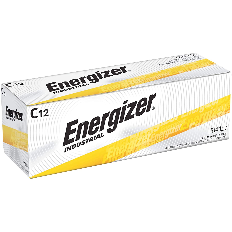 Amazon:Energizer Alkaline C Batteries (12 Count)只賣$8.82