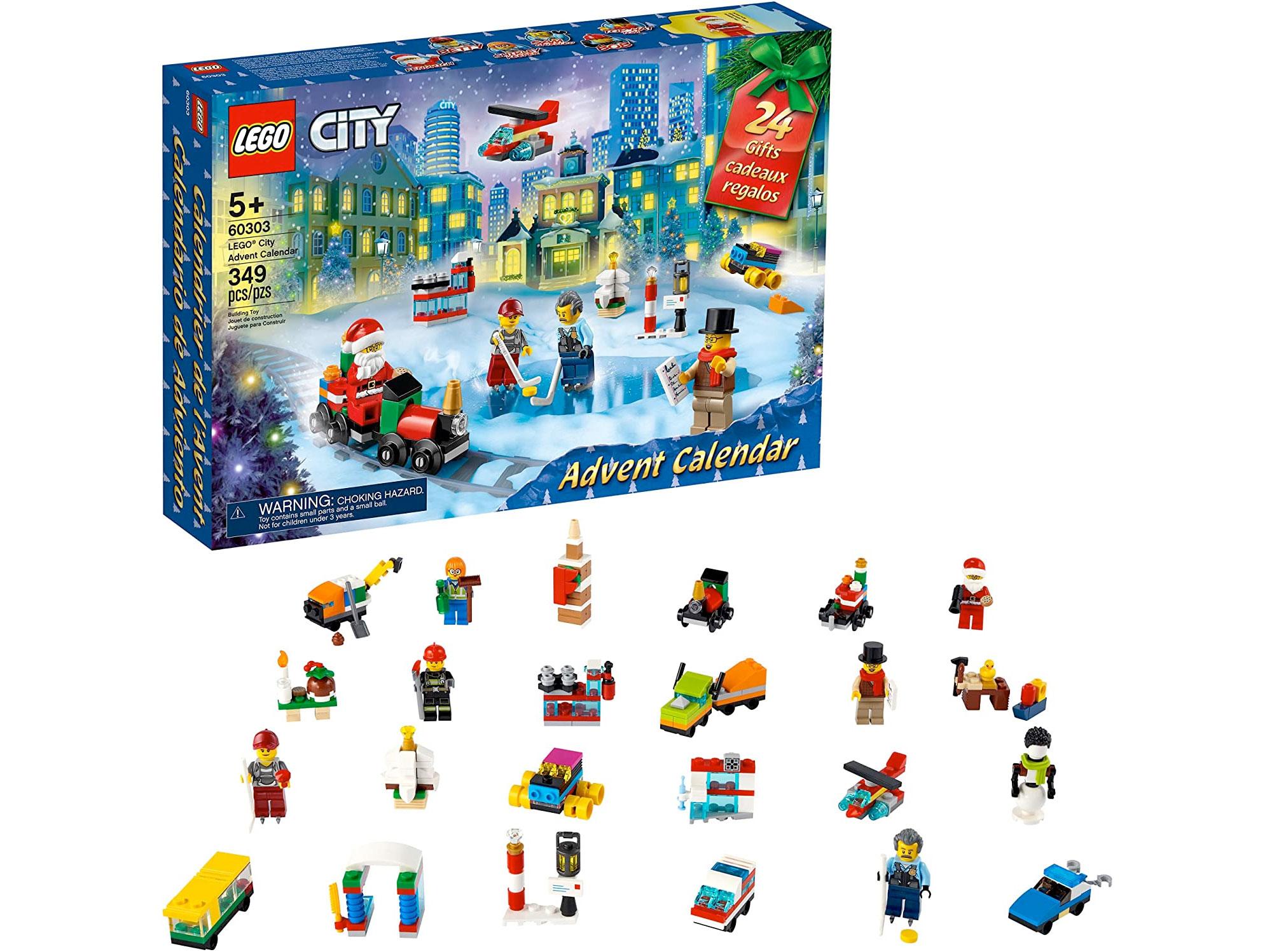 Amazon:LEGO City Advent Calendar 60303 (349 pcs)只卖$31.99